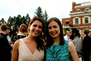 Elizabeth and Kate Mt Hope June 2012