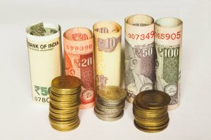 Currency in shillings and paper
