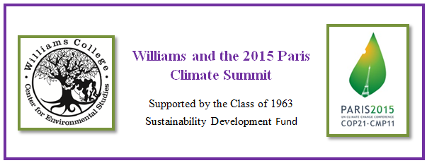 Williams and COP21