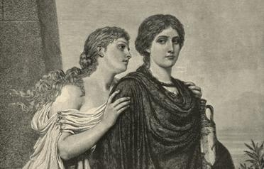 an analysis of ismene and antigone two sisters in antigone a play by sophocles Antigone is a tragedy book written by sophocles with a between antigone and her sister ismene two sisters in antigone when we read.