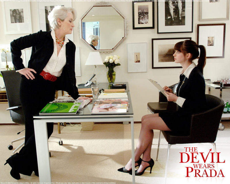 Image result for the devil wears prada film