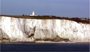 Fig. 2 The White Cliffs of Dover