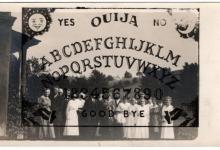 On Ouija on Vintage on Solar Plate