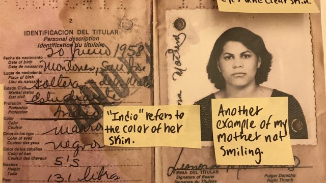 My Mother's Passport