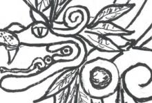 Quetzacoatl y sus flores on My Back