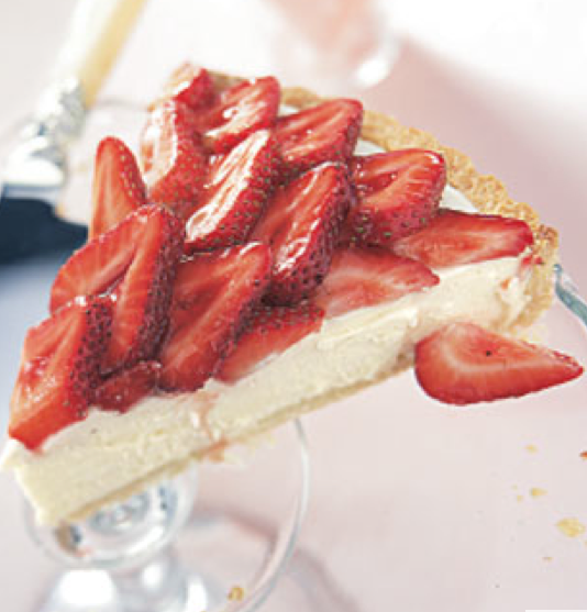 Decorative thoughts life of pie thea 10 for White chocolate and strawberry tart