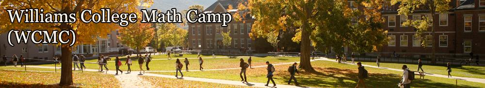 Williams College Math Camp – WCMC