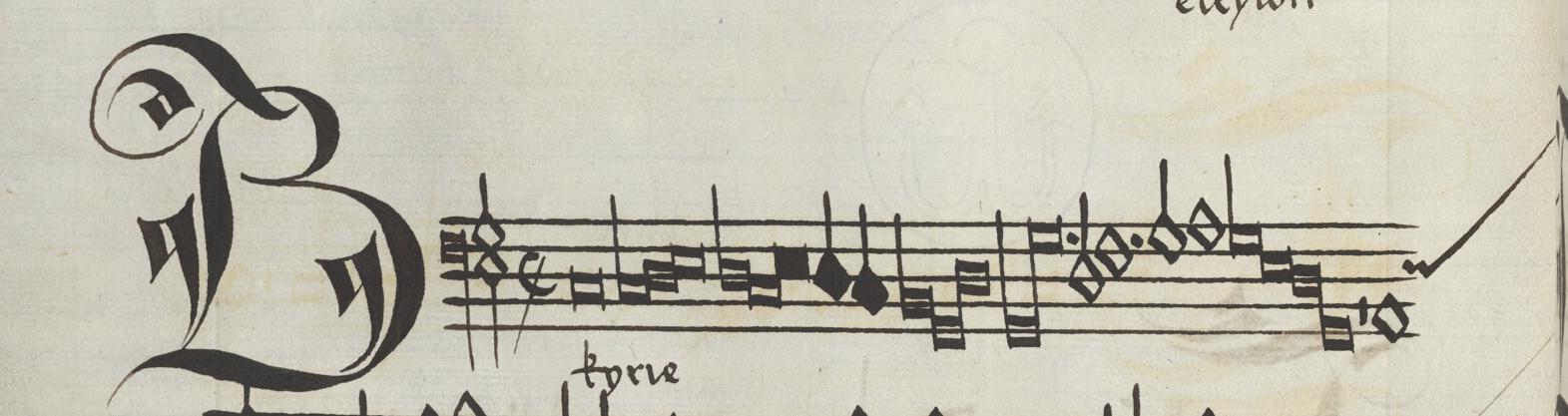 kyrie manuscript