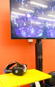 Oculus Rift station.