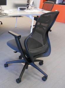 BEAS: Black, ergonomic, adjustable, square holes