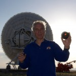 The eclipse was observed at the Jansky Very Large Array.