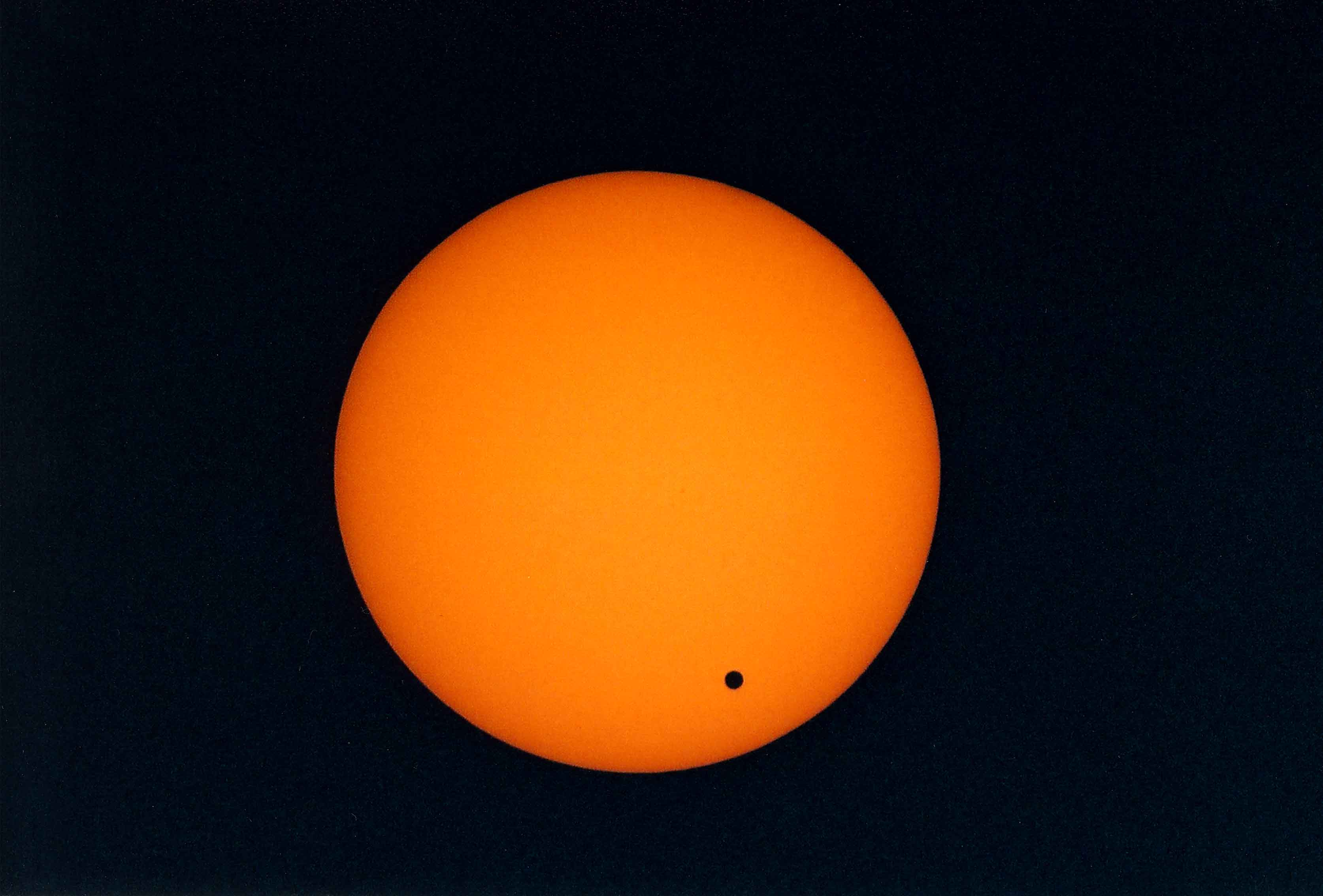 Transit of Venus, courtesy of Williams College Expedition