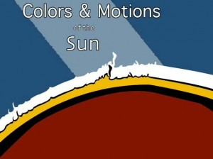colors and motions of the sun
