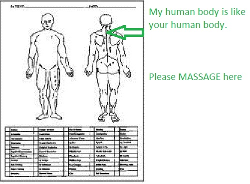 p4 map of body