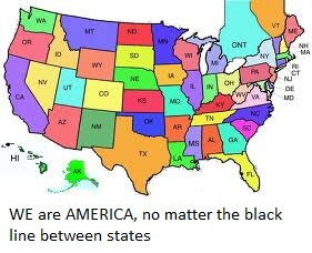 P40 Map Of Us We Are A Whole Country Together