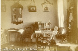 Kappa Alpha interior, 1885 (1 of 2)