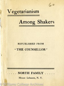 Vegetarianism Among Shakers