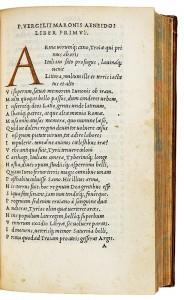 Vergil 1501 Aldus