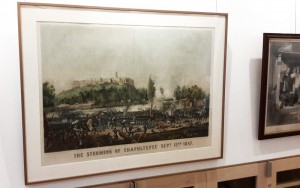Battle of Chapultepec print