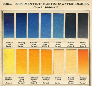 Winsor and Newton specimens pl3