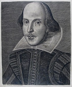 Shakespeare portrait