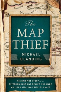 Map Thief dust jacket