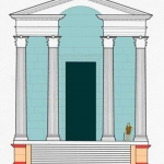 Temple I Elevation